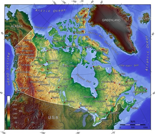 Canadian Topo Maps Canada Hunting And Fishing: Canada Topo Maps Free At Usa Maps