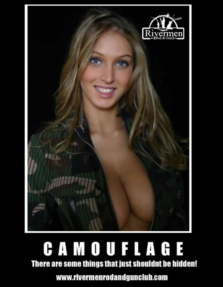 sexy camouflage